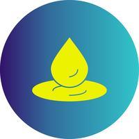 icône de goutte d'eau de vecteur