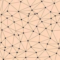 Modèle de réseau sans soudure de vecteur. Texture polygonale vecteur