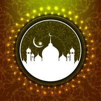 Abstrait Eid Mubarak vecteur