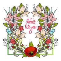 Bouquet d'été de marguerites de fleurs et d'asters sur fond blanc. vecteur