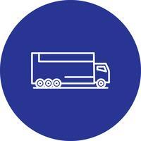 Icône de camion de vecteur