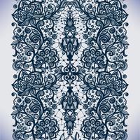 Abstrait motif de dentelle transparente avec des fleurs