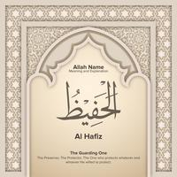 99 noms d'Allah avec signification et explication vecteur