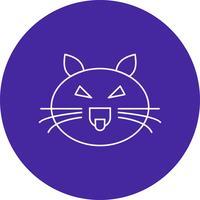 icône de chat de vecteur