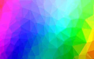 multicolore clair, fond de mosaïque abstraite de vecteur arc-en-ciel.