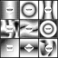 modèle de conception de fond de demi-teintes vintage