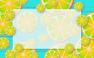 limonade Fond de vecteur