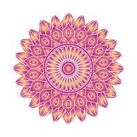 Image vectorielle ornement Mandala vecteur
