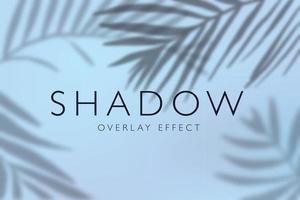 fond d'effets de superposition d'ombre vecteur