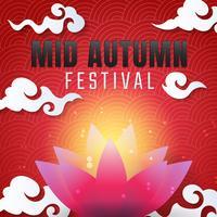 Fond de vecteur mi Festival d'automne
