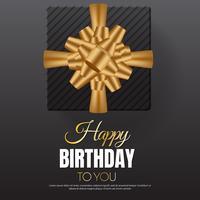 joyeux anniversaire Vector background