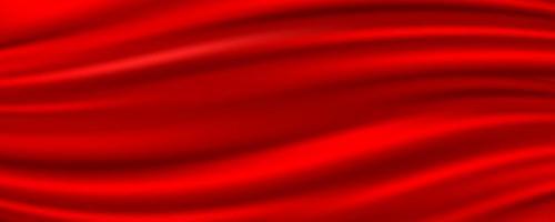 Tissu de soie rouge abstrait, illustration vectorielle vecteur