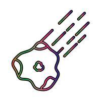 astronomie parfaite icône vecteur ou illustration d'un pigtogramme dans un style rempli