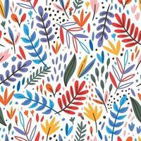 motif de feuilles tropicales vecteur