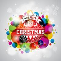Joyeux Noël illustration vecteur