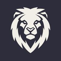 Mascotte vecteur tête de lion
