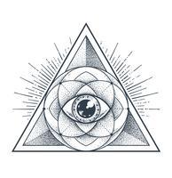 Géométrie sacrée vecteur