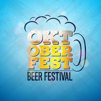 Illustration de la bannière Oktoberfest