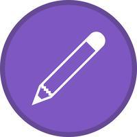 Icône remplie de crayon