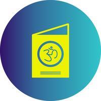 icône de carte de vecteur