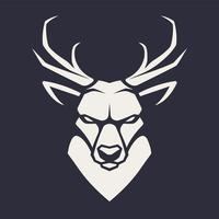 Cerf mascotte Vector Icon