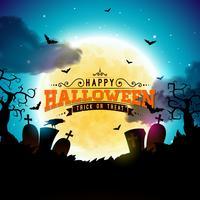 Heureux illustration d'Halloween