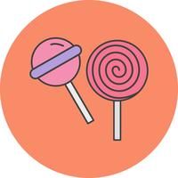 icône de bonbons vecteur
