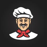 Icône de chef de vecteur
