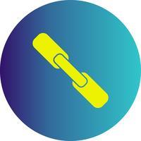 icône de pièce jointe de vecteur
