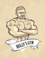 Bullys gym vecteur