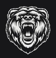 Roaring Bear vecteur