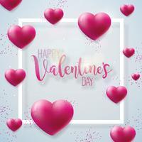 Heureuse Saint Valentin Illustration