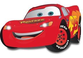 Lightning McQueen vecteur