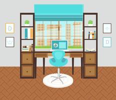 Espace bureau intérieur