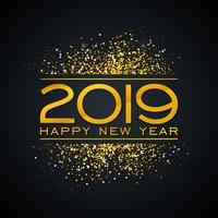 Illustration de bonne année 2019