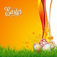 Illustration de vacances de Pâques