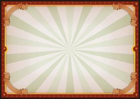 Affiche vierge de cirque vecteur