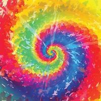 tie dye abstrait coloré vecteur