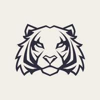Mascotte vecteur tigre