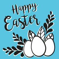 Bannière de Joyeuses Pâques.