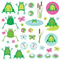 grenouille clipart