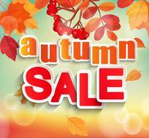 Automne, vente d'automne