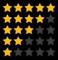 fond de rang étoile. illustration vectorielle vecteur