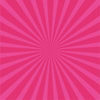 Fond de rayons rose vif. vecteur