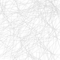Texture asymétrique avec des lignes chaotiques aléatoires, motif géométrique abstrait vecteur