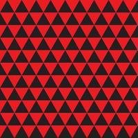modèle sans couture de fond hypnotique rouge et noir. vecteur