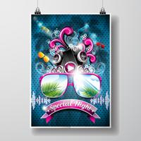 Conception de flyers de Summer Beach Party