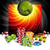 illustration du thème du casino vecteur