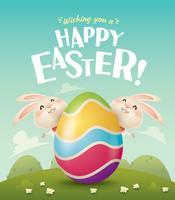 En vous souhaitant de joyeuses Pâques