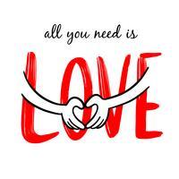 Tout ce dont vous avez besoin c'est de l'amour